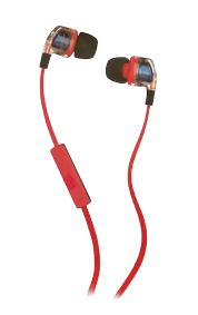 skullcandy smokin bud spggy in ear earphones mic red skullcandy smokin bud 2 s2pggy 391 in ear earphones mic red and blue mic