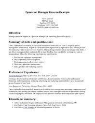 cover letter cover letter fascinating sample resume management resume summary how to write sample resume management resume career overview example