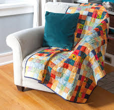 All About Batik Quilting Fabric & Checker Board Mosaic Quilt Kit Adamdwight.com