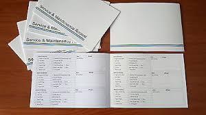 Car Maintenance Record Lexus Service History Book Vehicle Maintenance Record Log