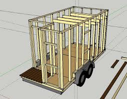 Small Picture Tiny House Wall Framing Sketchup Austin Tiny House