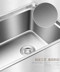 handmade double bowl sus 304 stainless steel kitchen sink undermount