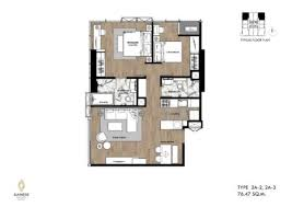 The unit is on the first floor for easy access. Floor Plans Unit Layout Queens Page 11 1 Remax Bangkok กร งเทพ