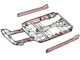 saab chassis panels and floor panels uk worldwide chassis and floor repair panels for the saab 99 1969 1984