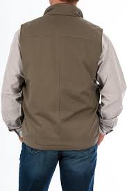 mens contender concealed carry vest stone
