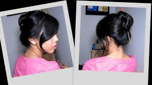 Chopstick Hairstyle 30 Second Chopstick Updo Great For Thick Hair Youtube 7645 by wearticles.com