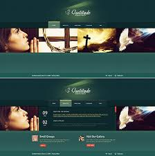 Flash Website Templates Mesmerizing Graceful Church Christian Website Templates Entheos