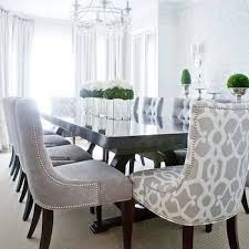 gray velvet dining chairs transitional dining room lux decor
