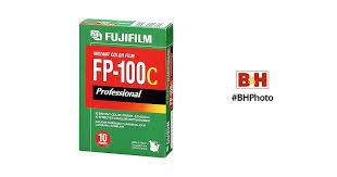 <b>FUJIFILM</b> FP-100C Professional Instant <b>Color Film</b> ISO 100