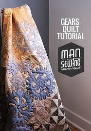 gears quilt pinnable (1) | Quilting | Pinterest | Patchwork, Quilt ... & Applique quilts Adamdwight.com