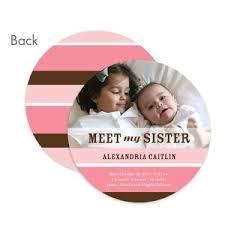 Sibling Birth Announcement Baby Girl Sibling Announcement Cute Ideas Pinterest Birth