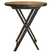 wooden cocktail table