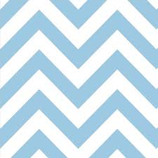 Light Blue Chevron Paper Napkins Dessert Napkins Chevron Blue