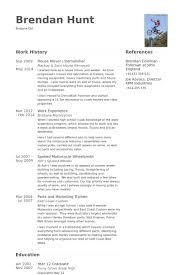 House Mover / Demolisher Resume samples