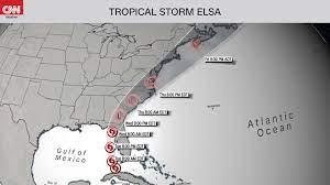 SE Georgia braces for Hurricane Elsa ...