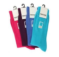socks might be one of the least original holiday gifts but eveyone can use a new pair and these pantone socks make the cliche gift totally