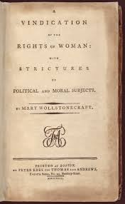 A Vindication Of The Rights Of Woman Wikipedia
