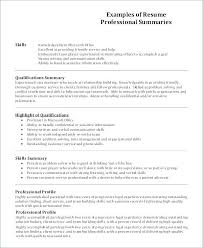 Example Of A Profile For A Resumes Resume Profile Sample Resume Example Profile Profile Resume Example