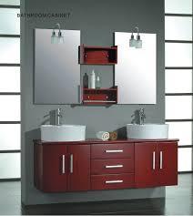 White Wood Bathroom Vanity Cambridge 59 Inch Solid Wood Double Bathroom Vanity Set