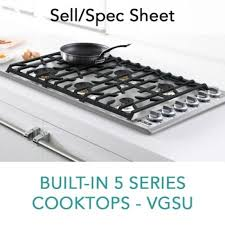 viking vgsu5366bss professional 5 series 36 gas cooktop in stainless steel