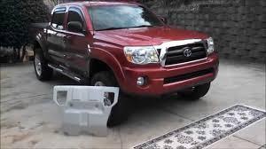 Toyota Tacoma Factory Skid Plate Intallation - YouTube