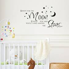 moon stars vinyl wall decal quotes diy art mural removable wall stickers home decor kids room on stars vinyl wall art with moon stars vinyl wall decal quotes diy art mural removable wall
