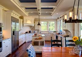 Beach House Kitchen Beach House Style Kitchen Colonial Craft Kitchens Inc Custom