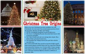 christmas tree origins « Vivien Veil
