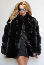 fox furs black royal saga fox fur jacket