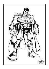Superman4 Superman Kleurplaten Kleurplaatcom