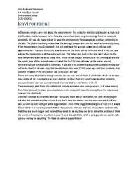 essay of environment the oscillation band essay of environment