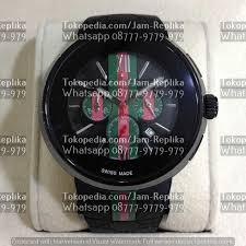 gucci 1142. jam tangan gucci chronograph ree1142 black 1142