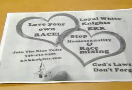 kkk essay best ideas about kkk granada spain white people essay on  valentine s day themed kkk recruitment underway in upstate ny kkk flyers