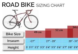 Mountain Bicycle Size Chart Paradigmatic Sizing Chart For Mountain Bikes 2019