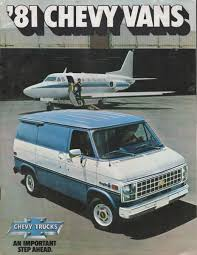 GM 1981 Chevy Vans Chevy Truck Sales Brochure