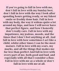 Falling In Love Quotes Best If You're Going To Fall In Love With Me Heartfelt Love And Life