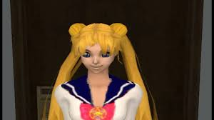 Sims 2 Sailor Moon: Darien Breaks up with Serena - YouTube