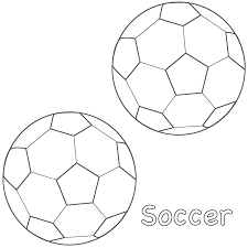 Small Picture Soccer Balls Coloring Page Sports