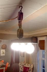 pulley lighting. old pulley light lighting