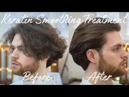 keratin smoothing straightening