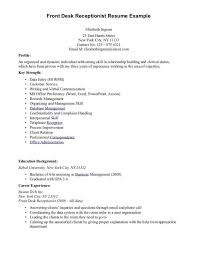 template wonderful sample resume for receptionist receptionist resume sample career enter receptionist resume example 187 front sample receptionist resume cover letter