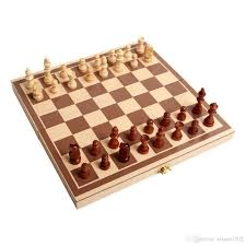 Wooden Sorry Board Game Wooden Chess Toys Set Wooden Puzzle Chess Folding Chessboard Set 30