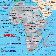 Africa Map Map Of Africa Worldatlas Com