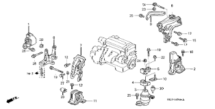 honda online store accord engine mount mt parts 1999 accord ex 2 door 5mt engine mount mt