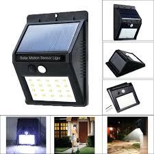led wall light outdoor led solar power motion sensor wall light outdoor patio lamp waterproof led