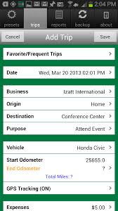 business mileage tracker amazon com milebug mileage log expense tracker appstore for