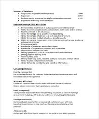 Sample Resume Of Store Manager Sample Store Manager Resume 10 Free Documents In Pdf