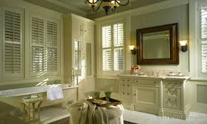 french country bathroom designs. French Country Bathroom With Louvered Windows And Low Tub Also Wood Framed Mirror Designs D