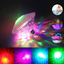Baby Bath Disco Lights Amazon Com Tplinc Waterproof Swimming Pool Lights Floating