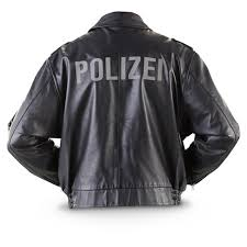 styles vary may have polizei on back